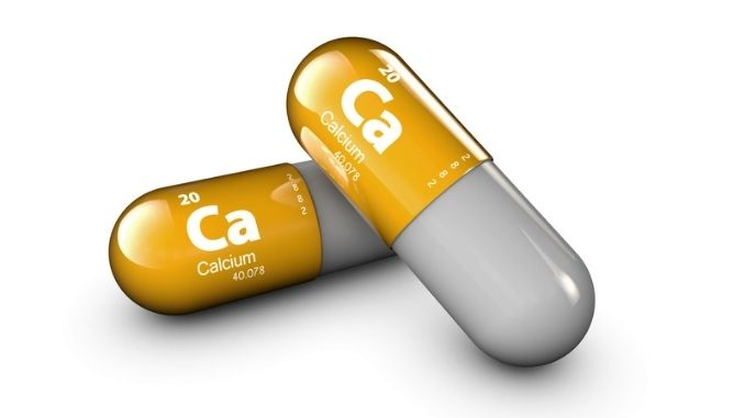 Illustration of Calcium mineral