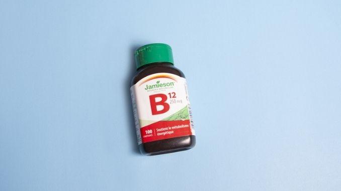 Jamieson brand vitamin B12
