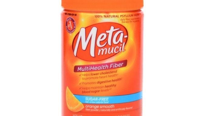 Meta-Mucil Fiber Powder