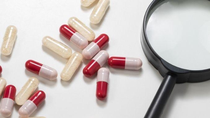 antibiotics and probiotics capsule
