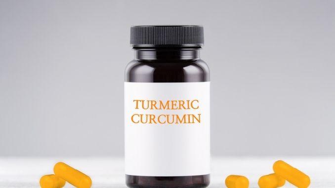 supplement turmeric curcumin bottle