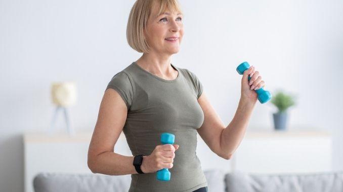 exercising-dumbbells